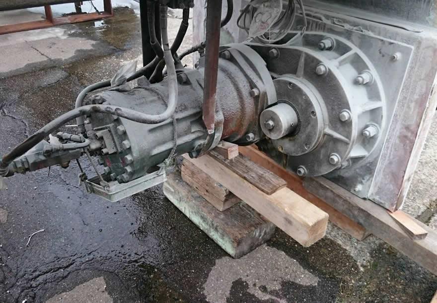 宝寿丸 船のエンジン交換
